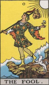 Tarot The Fool Card